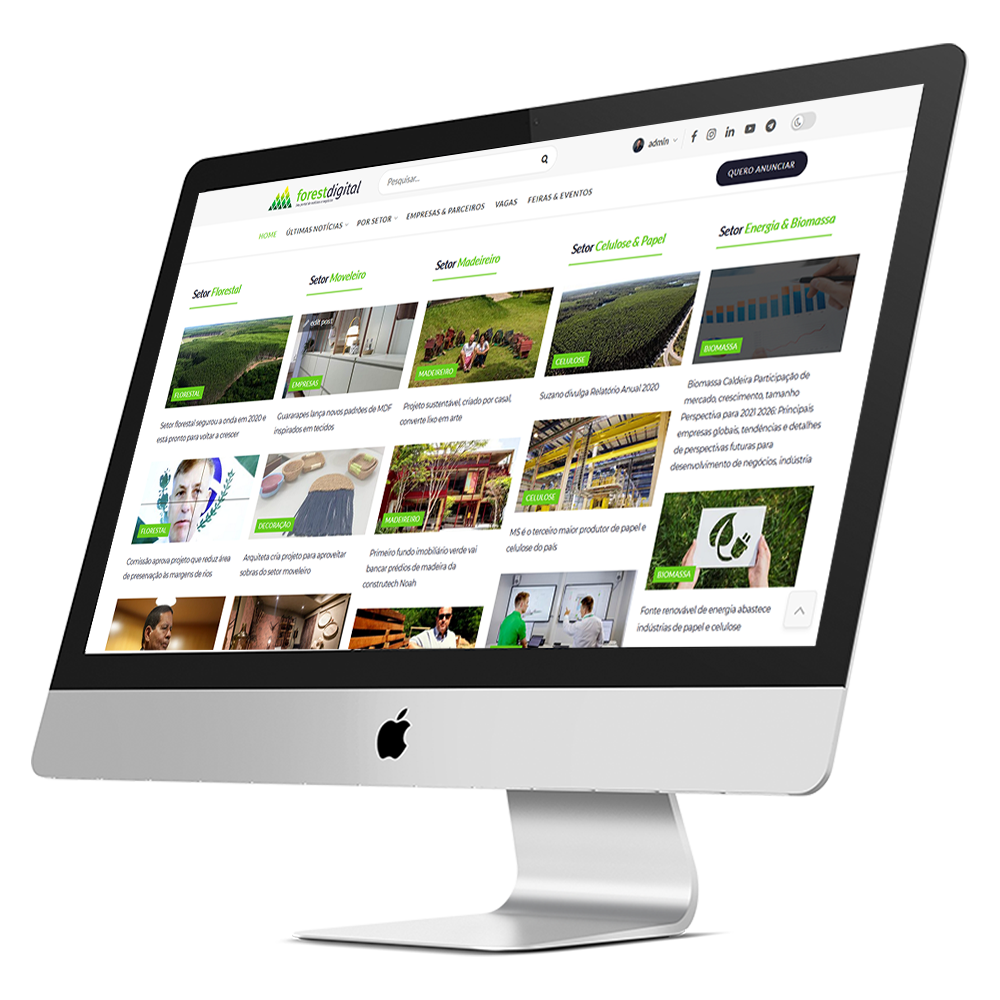 Portal de notícias florestal forest digital
